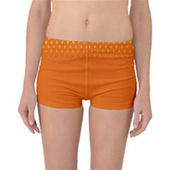 Orange Star Space Boyleg Bikini Bottoms