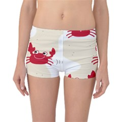 Sand Animals Red Crab Boyleg Bikini Bottoms