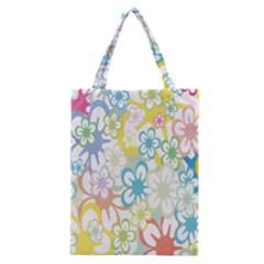 Star Flower Rainbow Sunflower Sakura Classic Tote Bag