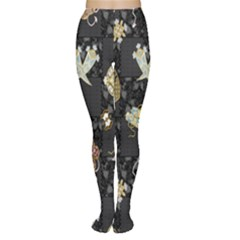 Traditional Music Drum Batik Women s Tights