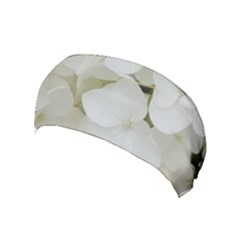 Hydrangea Flowers Blossom White Floral Photography Elegant Bridal Chic  Yoga Headband