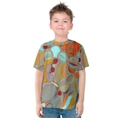 Liquid Bubbles Kids  Cotton Tee