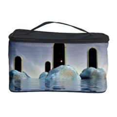 Abstract Gates Doors Stars Cosmetic Storage Case
