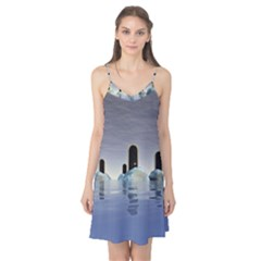 Abstract Gates Doors Stars Camis Nightgown