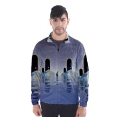 Abstract Gates Doors Stars Wind Breaker (men)