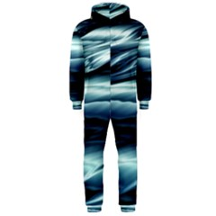 Texture Fractal Frax Hd Mathematics Hooded Jumpsuit (men)
