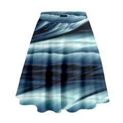 Texture Fractal Frax Hd Mathematics High Waist Skirt