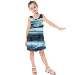Texture Fractal Frax Hd Mathematics Kids  Sleeveless Dress
