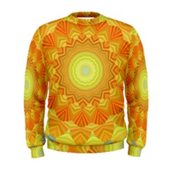 Sunshine Sunny Sun Abstract Yellow Men s Sweatshirt