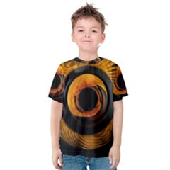 Fractal Pattern Kids  Cotton Tee