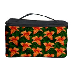Background Wallpaper Flowers Green Cosmetic Storage Case