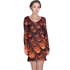 Fractal Mathematics Frax Hd Long Sleeve Nightdress
