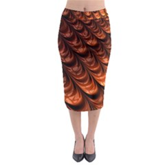 Fractal Mathematics Frax Hd Midi Pencil Skirt