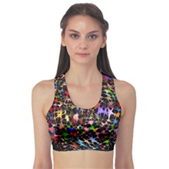 Network Integration Intertwined Sports Bra