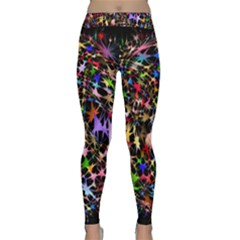 Network Integration Intertwined Classic Yoga Leggings