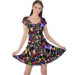 Network Integration Intertwined Cap Sleeve Dresses
