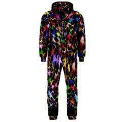 Network Integration Intertwined Hooded Jumpsuit (men)