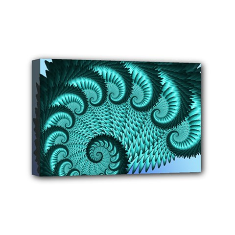 Fractals Texture Abstract Mini Canvas 6  X 4