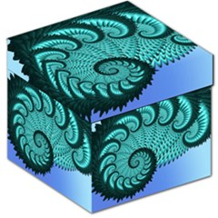 Fractals Texture Abstract Storage Stool 12