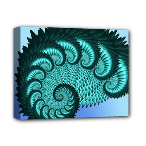 Fractals Texture Abstract Deluxe Canvas 14  x 11