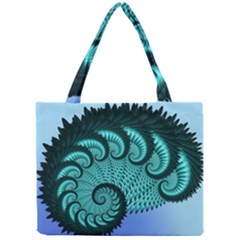 Fractals Texture Abstract Mini Tote Bag