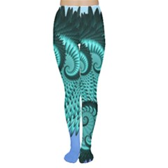Fractals Texture Abstract Women s Tights