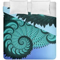 Fractals Texture Abstract Duvet Cover Double Side (king Size)