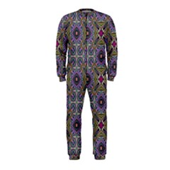 Vintage Abstract Unique Original OnePiece Jumpsuit (Kids)