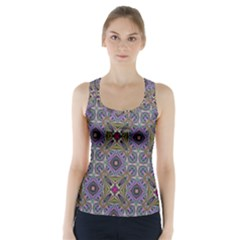 Vintage Abstract Unique Original Racer Back Sports Top