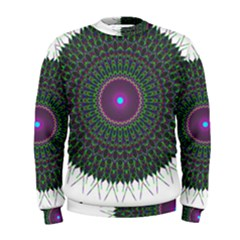 Pattern District Background Men s Sweatshirt