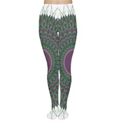 Pattern District Background Women s Tights