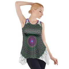 Pattern District Background Side Drop Tank Tunic