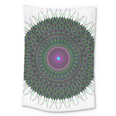 Pattern District Background Large Tapestry