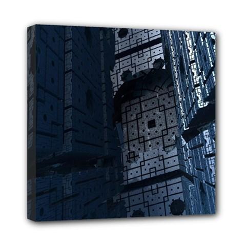 Graphic Design Background Mini Canvas 8  x 8