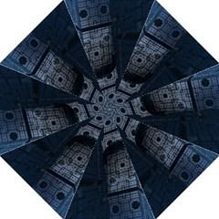 Graphic Design Background Folding Umbrellas