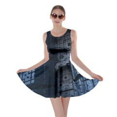 Graphic Design Background Skater Dress