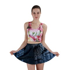 Graphic Design Background Mini Skirt