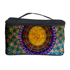 Temple Abstract Ceiling Chinese Cosmetic Storage Case