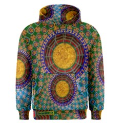 Temple Abstract Ceiling Chinese Men s Pullover Hoodie