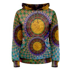 Temple Abstract Ceiling Chinese Women s Pullover Hoodie