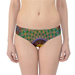 Temple Abstract Ceiling Chinese Hipster Bikini Bottoms