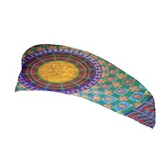 Temple Abstract Ceiling Chinese Stretchable Headband