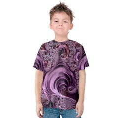 Abstract Art Fractal Art Fractal Kids  Cotton Tee