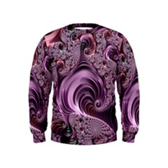 Abstract Art Fractal Art Fractal Kids  Sweatshirt