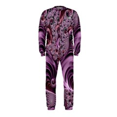 Abstract Art Fractal Art Fractal Onepiece Jumpsuit (kids)
