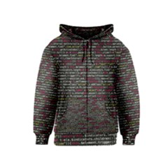 Full Frame Shot Of Abstract Pattern Kids  Zipper Hoodie