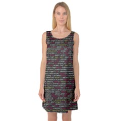 Full Frame Shot Of Abstract Pattern Sleeveless Satin Nightdress