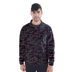 Full Frame Shot Of Abstract Pattern Wind Breaker (Men)