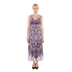 Sacred Art Shaman Shamanism Sleeveless Maxi Dress