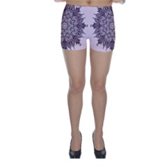 Sacred Art Shaman Shamanism Skinny Shorts